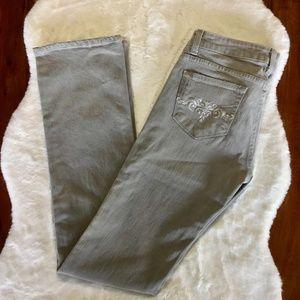 Paige Melrose Straight Grey Jean